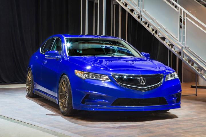 Acura And Galpin Auto Sports Build Custom TLX