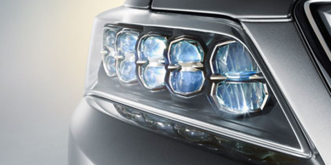 RLX Jewel Eye LED headlights