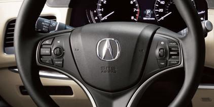 RLX steering wheel