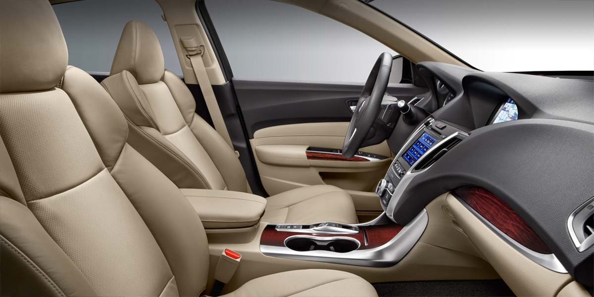 2015 TLX interior seating