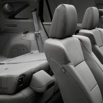 2016 Acura RDX interior seating with rear fold down