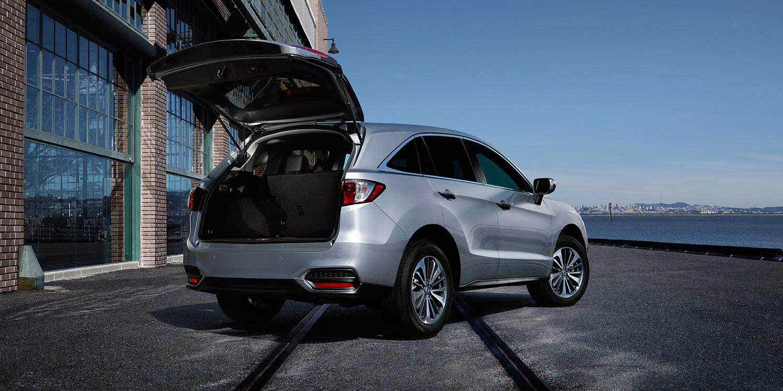 2016 Acura RDX rear tailgate open