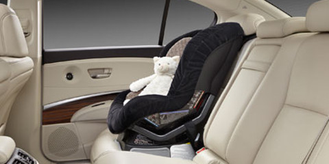 Child Safety Seat in Rear