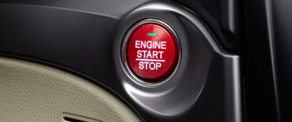 2016 ILX push start button