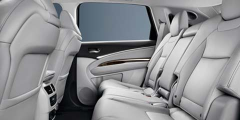 2016 MDX 2nd and 3rd Row Seats
