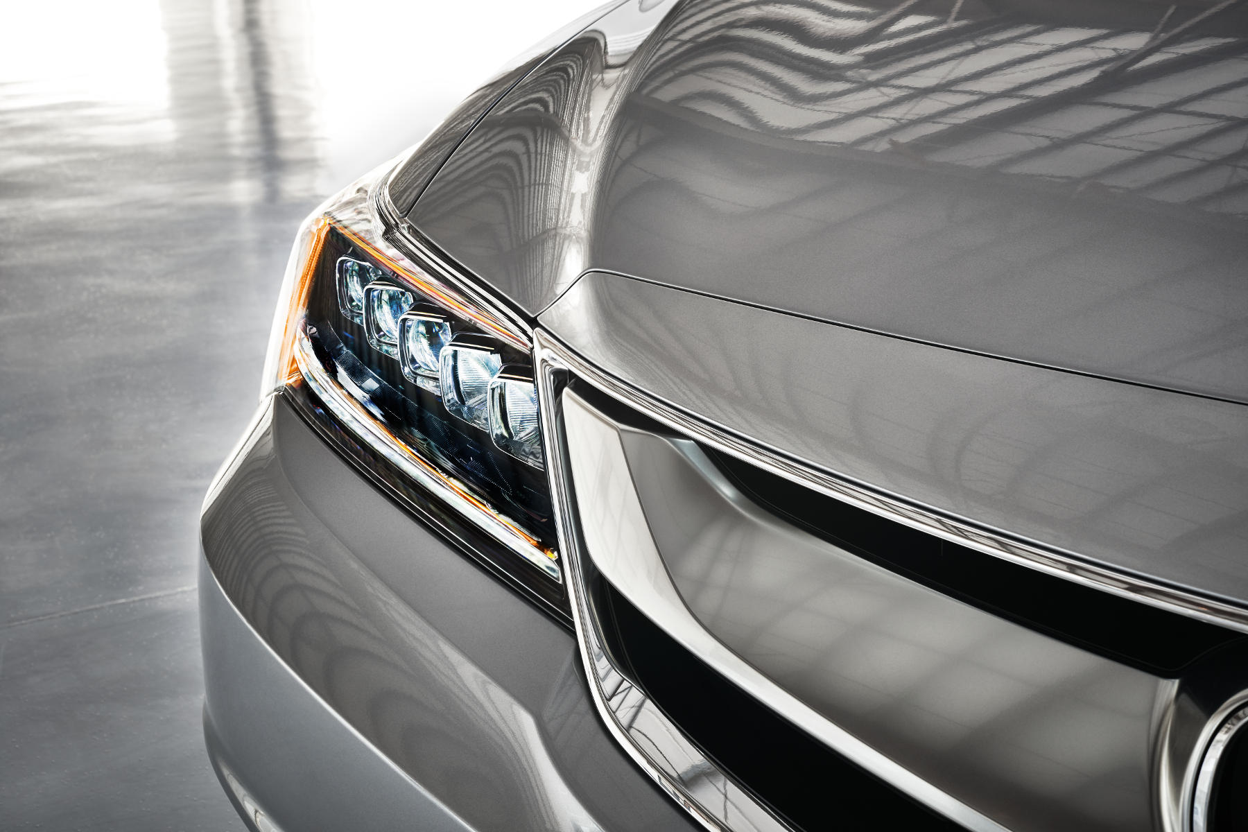 2016 ILX grille and headlight