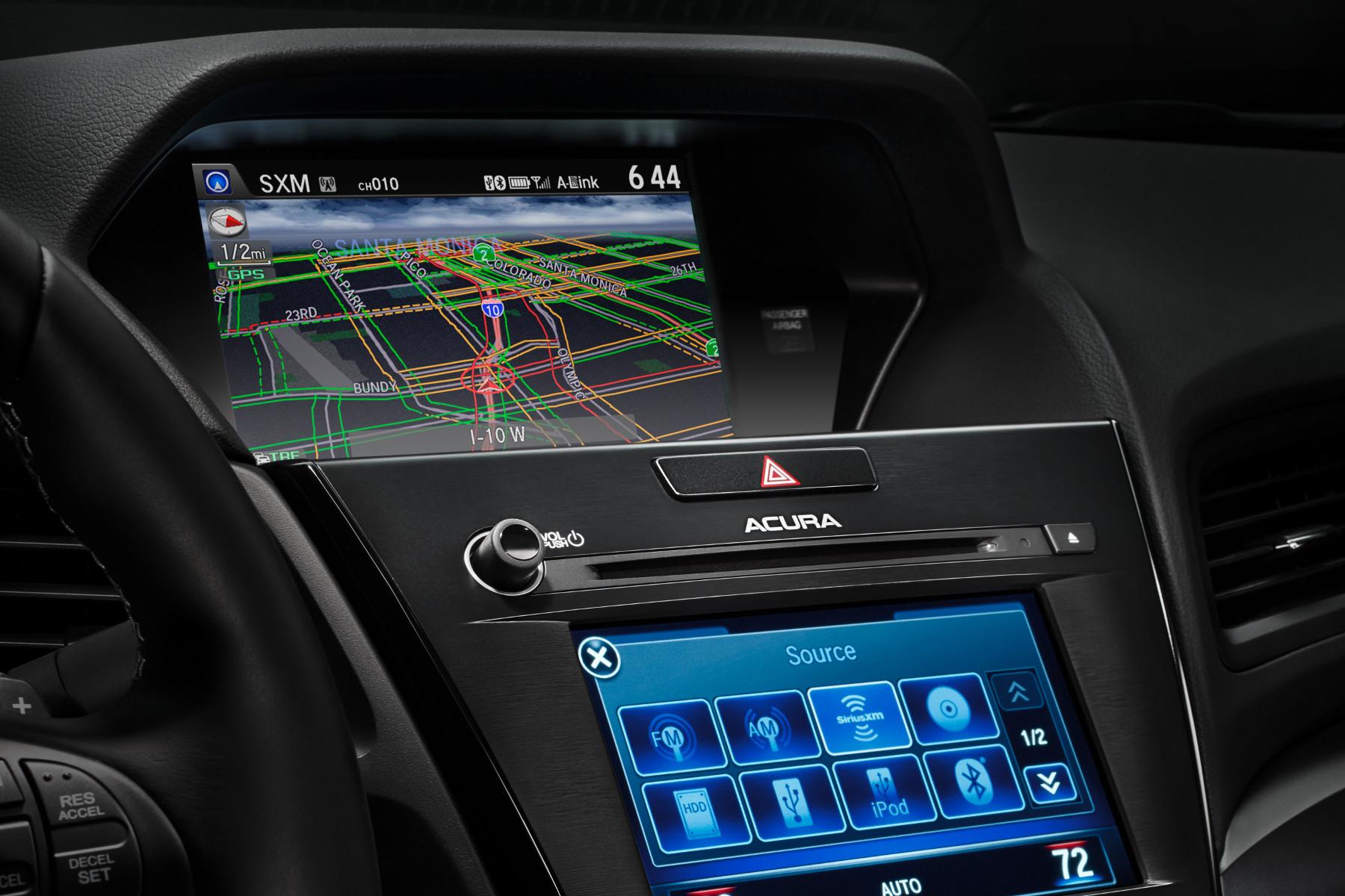2016 ILX dual screen
