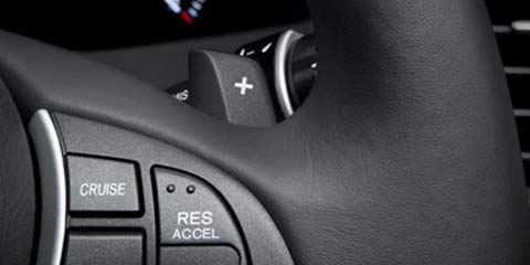 2016 Acura RDX paddle shifters