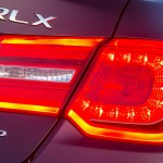 2016 RLX rear badge