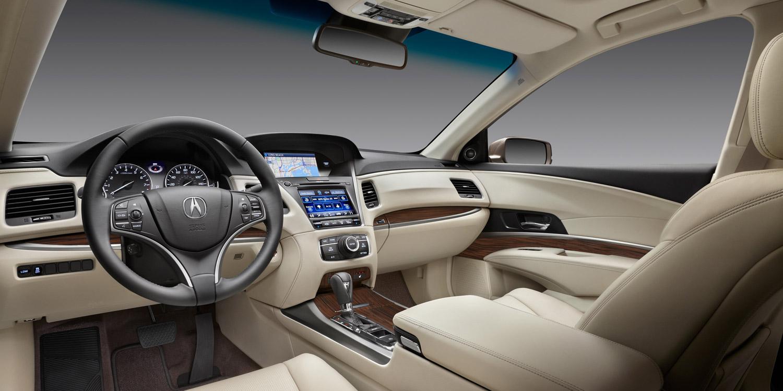 2016 RLX interior cabin