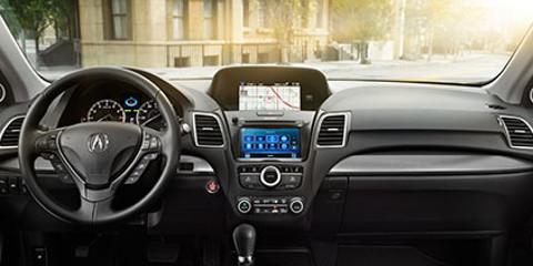 2016 Acura RDX dashboard