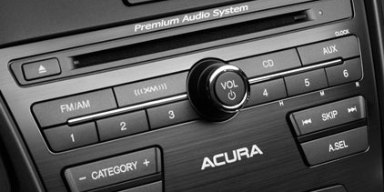 2016 Acura RDX audio system