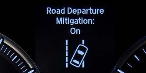 2016 TLX Road Departure Mitigation