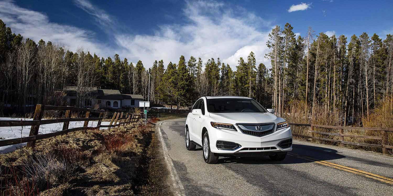 2017 Acura RDX White Exterior Front