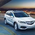 2017 Acura RDX White Exterior Night