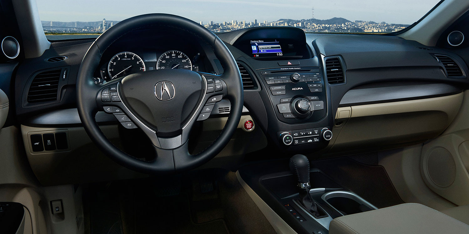2017 Acura RDX Front Cabin