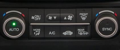 2017 Acura ILX Automatic Climate Control