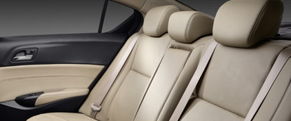 2017 Acura ILX Interior Rear Seating