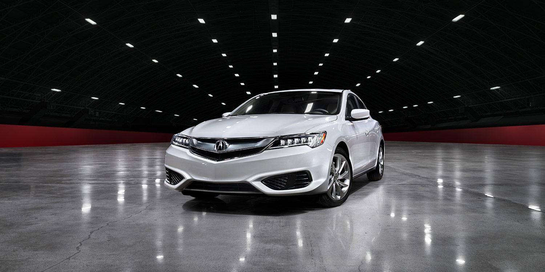 2017 Acura ILX Exterior White Front