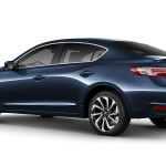 2017 Acura ILX Exterior Blue Rear