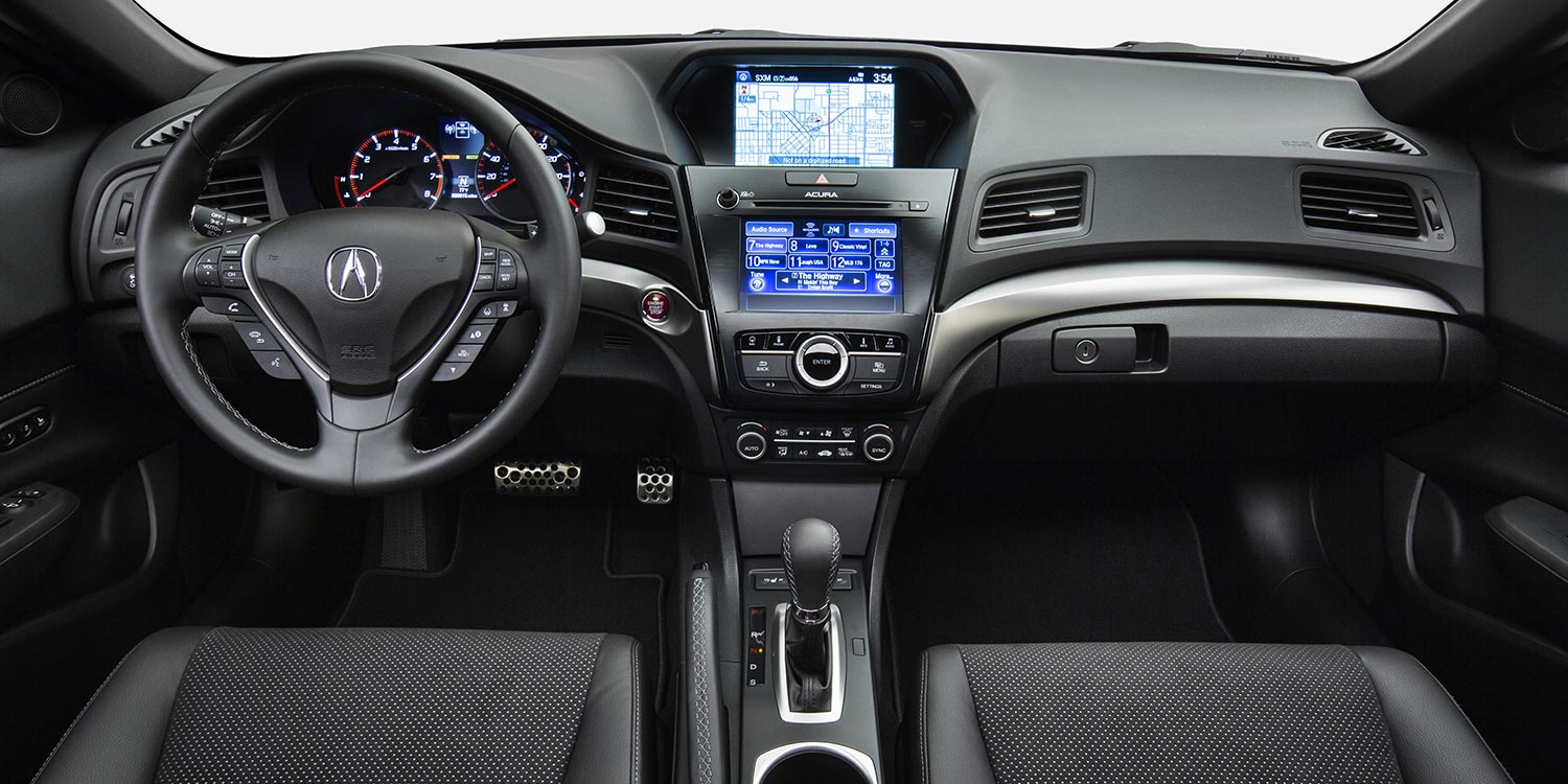 2017 Acura ILX Front Cabin