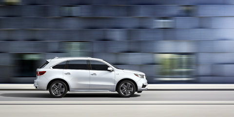 2017 Acura MDX Integrated Dynamics System