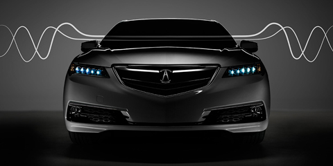 2017 Acura TLX Active Sound Control