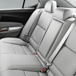 2017 Acura TLX Interior Back Seat