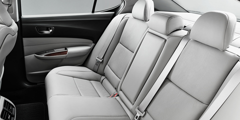 2017 Acura TLX Back Seat