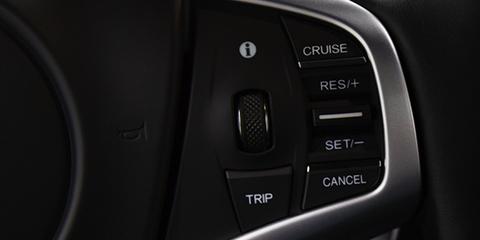 2017 Acura NSX Cruise Control