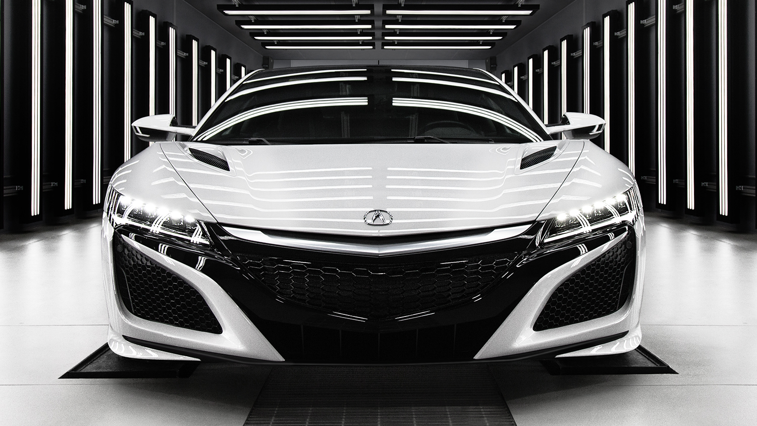2017 Acura NSX Exterior Front Lights