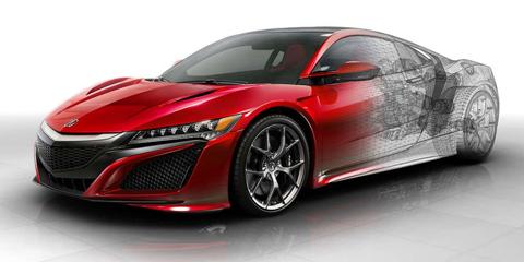 2017 Acura NSX Multi-Material Body