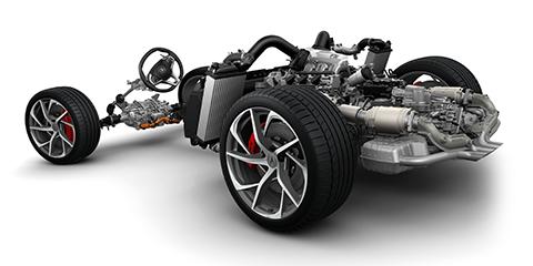 2017 Acura NSX Powertrain System
