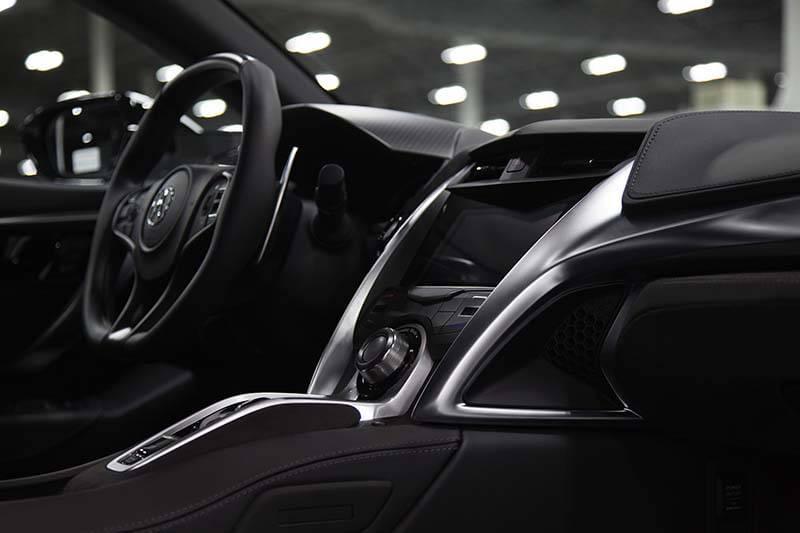2017 Acura NSX Dashboard