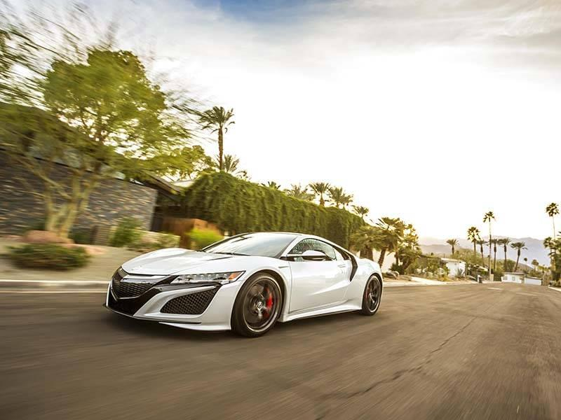 Acura NSX Quiet Mode