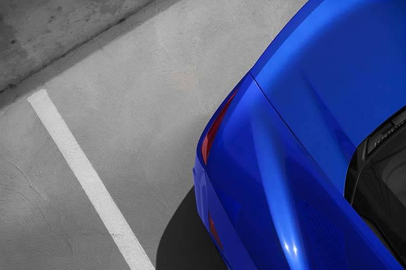Acura NSX Rear Back Corner