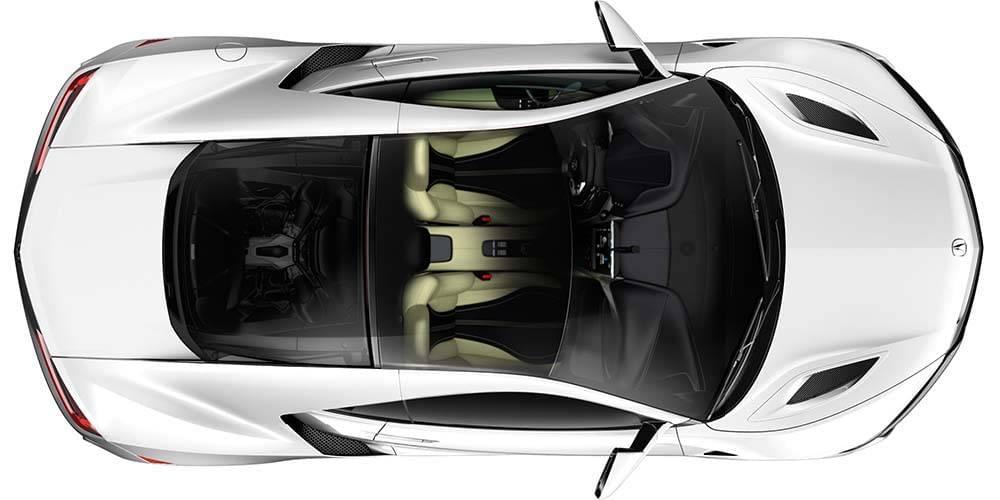 2017 Acura NSX Top