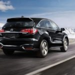 2018 Acura RDX Exterior Rear Angle Mountains
