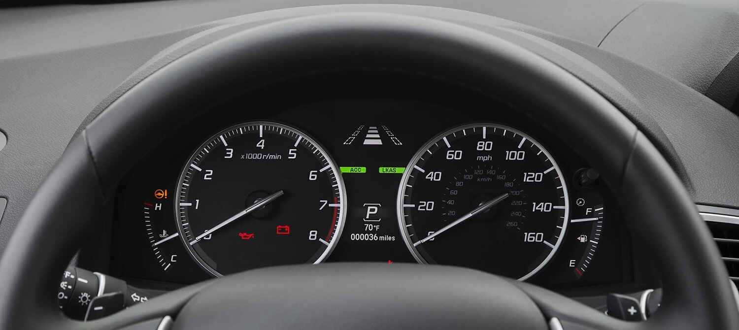 2018 Acura RDX Interior Gauges