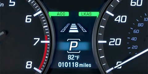 2018 Acura RDX Lane Keeping Assist System