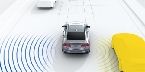2018 Acura TLX Blind Spot Information System