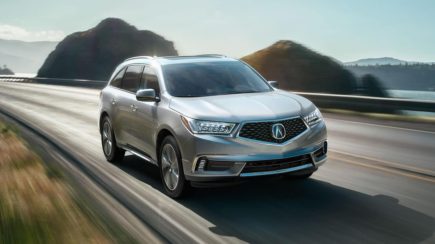 2018 Acura MDX Exterior Front Angle Passenger Side