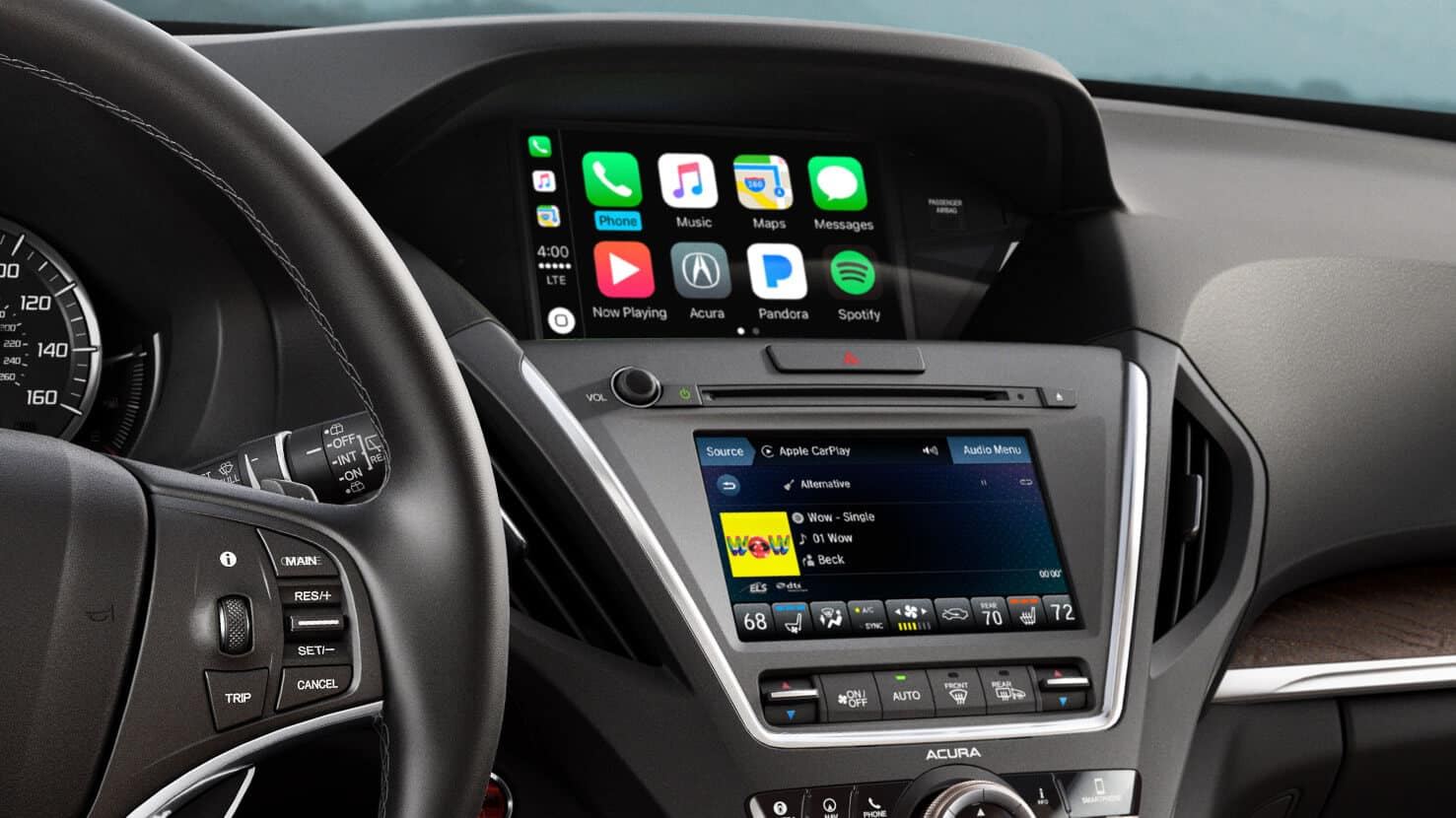 2018 Acura MDX Interior Tech Center Stack
