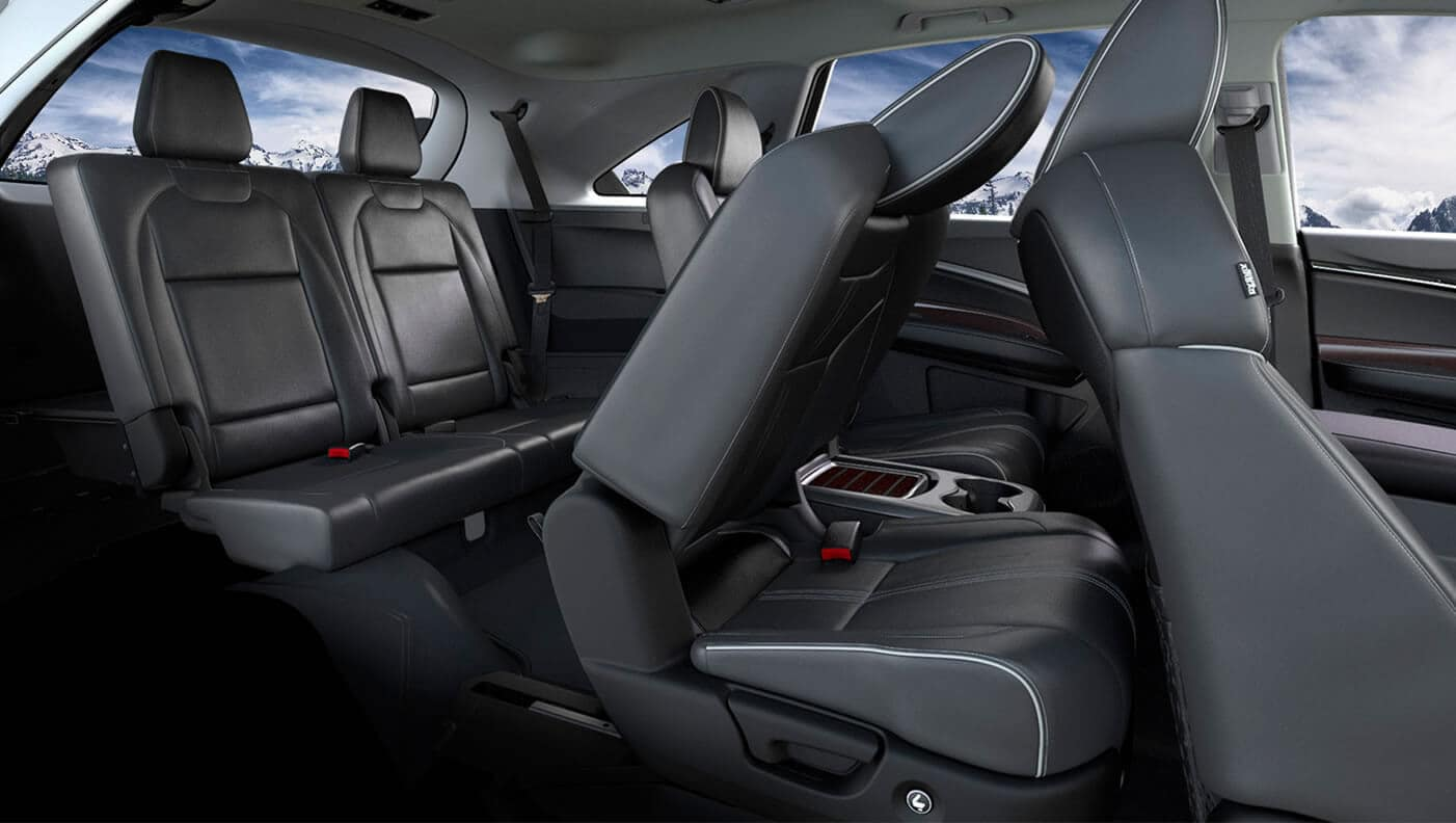 2018 Acura MDX Interior Seating Passenger Side Angle