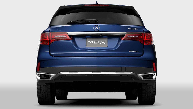 2018 Acura MDX Exterior Dual Chrome Exhaust