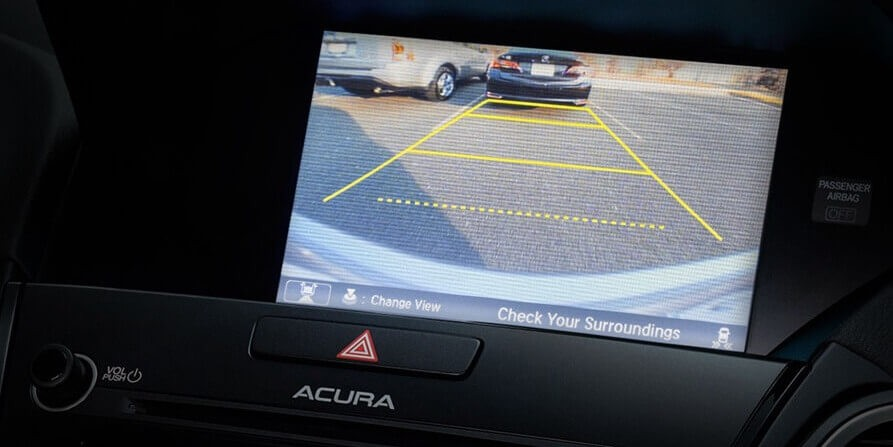 2018 Acura RDX Multi-View Rear Camera