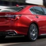 2018 Acura RLX driving