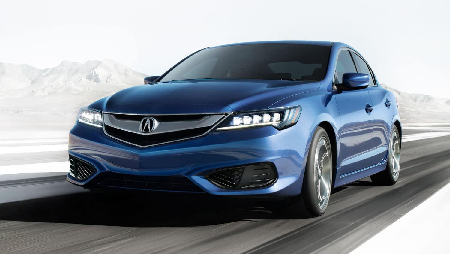 2018 Acura ILX Exterior Front Angle Driver Side