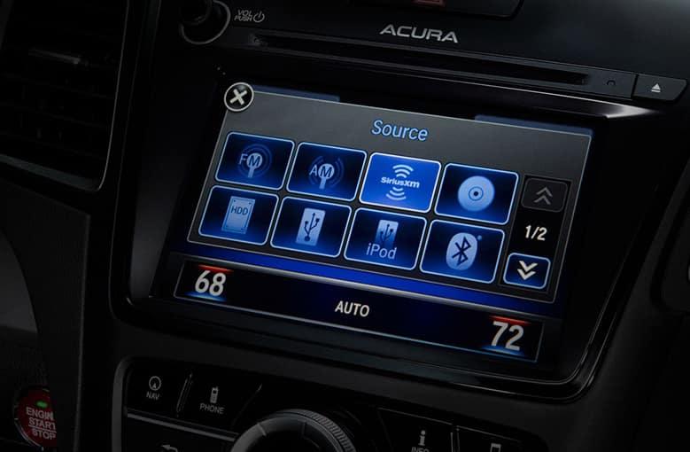 2018 Acura RDX Touchscreen