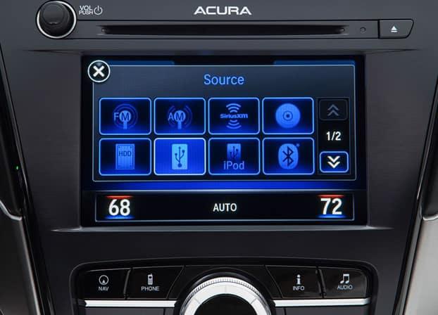 2018 Acura ILX Touchscreen